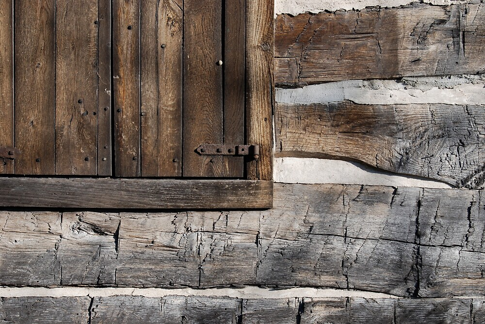 Wood On Wood by Robert Baker
