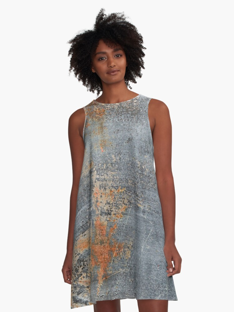 Burn Blue Rust - Alternative II A-Line Dress Front
