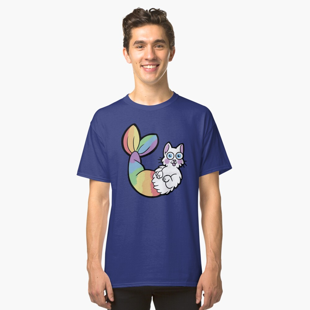 Purrmaid Classic T-Shirt Front