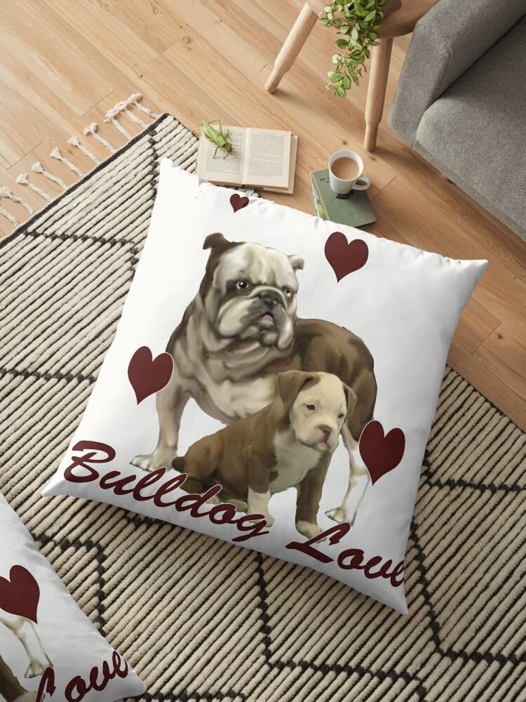 Bulldog Love by IowaArtist
