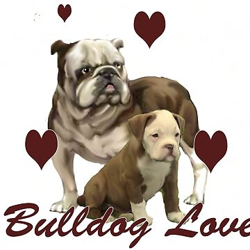 Bulldog Love by IowaArtist