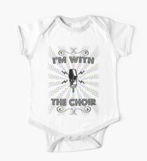 I'm With The Choir One Piece - Short Sleeve