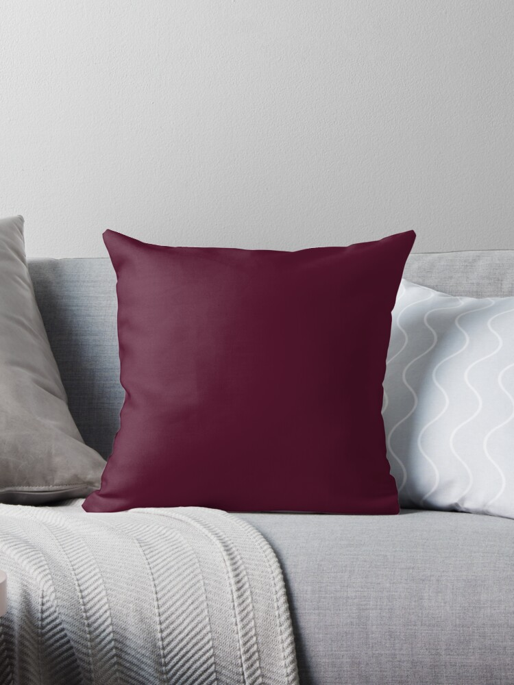 Beetroot Red Pink Burgundy | Solid Colour by koovox