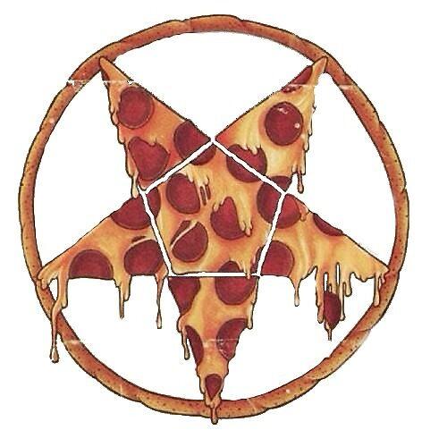 Hail Pizza by Ben Brown