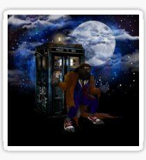 bad were wolf time travel Sticker