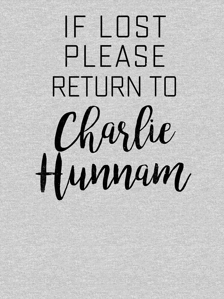 If lost return to Charlie Hunnam by byzmo