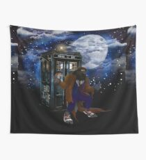 bad were wolf time travel Wall Tapestry