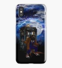bad were wolf time travel iPhone Case