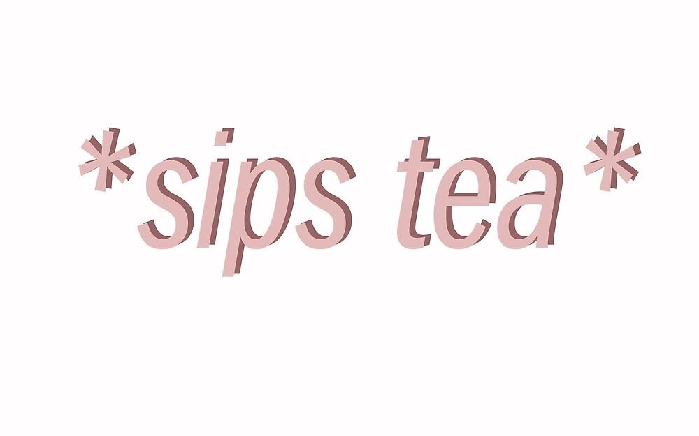 Sips Tea by awski