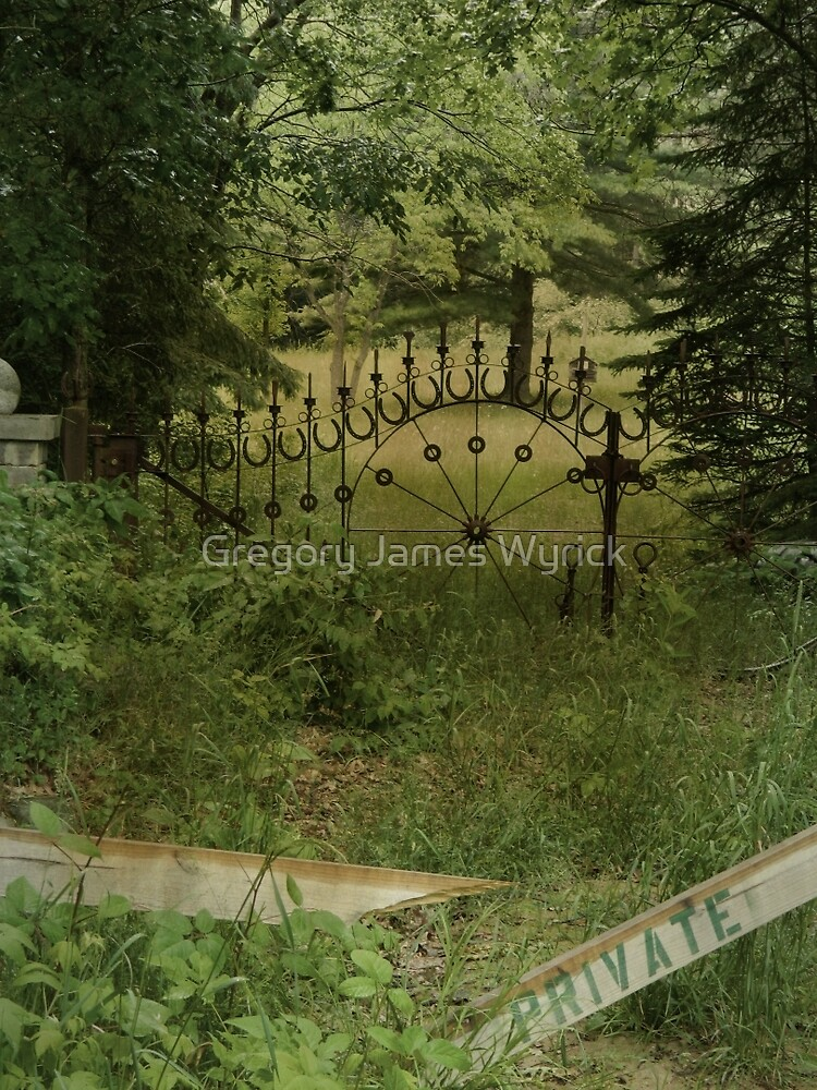 Gates at Blood Road by Gregory James Wyrick