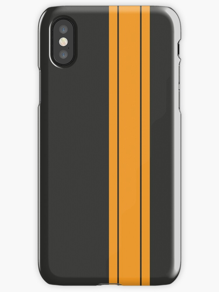 Black/Yellow Racing Stripe by sidebar