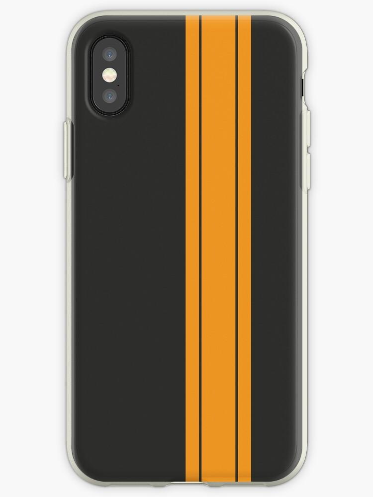 Black/Yellow Racing Stripe by sidebar