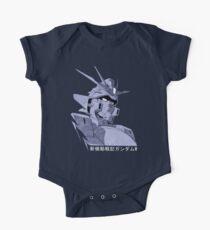 Gundam Wing Short Sleeve Baby One-Piece