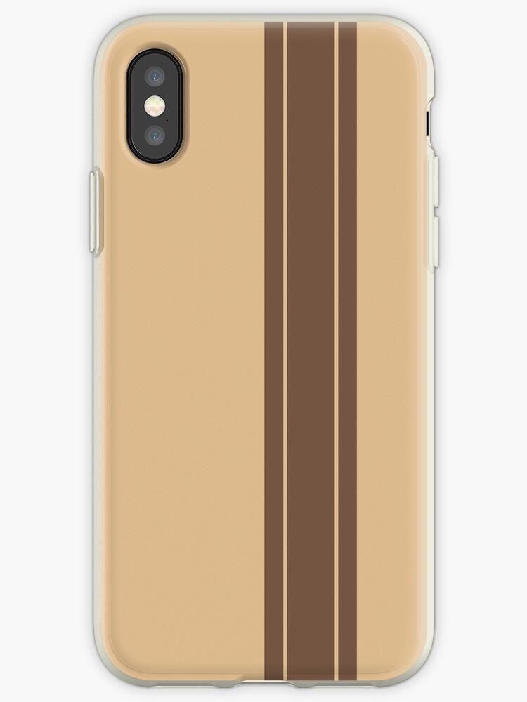 Tan/Brown Racing Stripe by sidebar