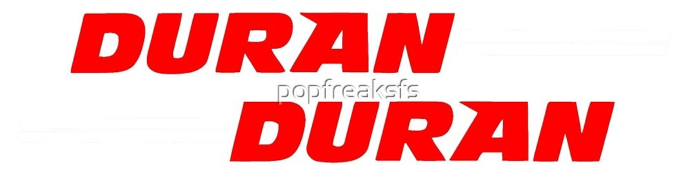 Duran Duran Classic logo by popfreaksfs