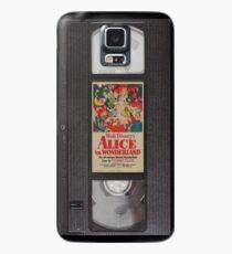 Alice in Wonderland VHS Case/Skin for Samsung Galaxy