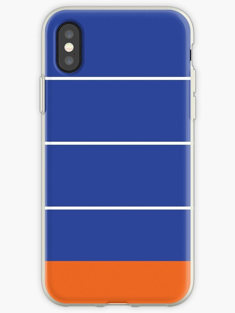 Royal Blue/White/Orange Stripes by sidebar