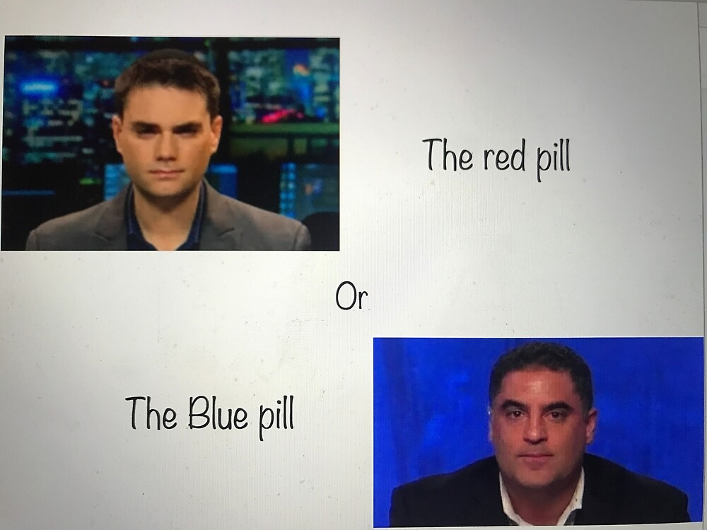 red pill blue pill stuff by nisse23