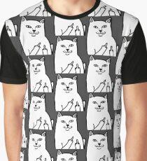 F*ckU Cat - Lord Nermal Graphic T-Shirt
