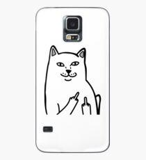 F*ckU Cat - Lord Nermal Case/Skin for Samsung Galaxy