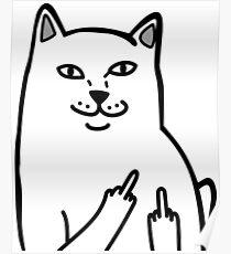 F*ckU Cat - Lord Nermal Poster