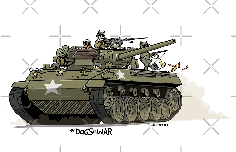 The Dogs of War: M18 Hellcat by Chris Jackson