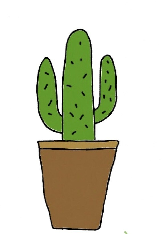 Cactus  by pastelcrimes