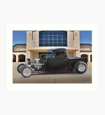 1946 Ford 'Rod and Custom' Pickup Art Print