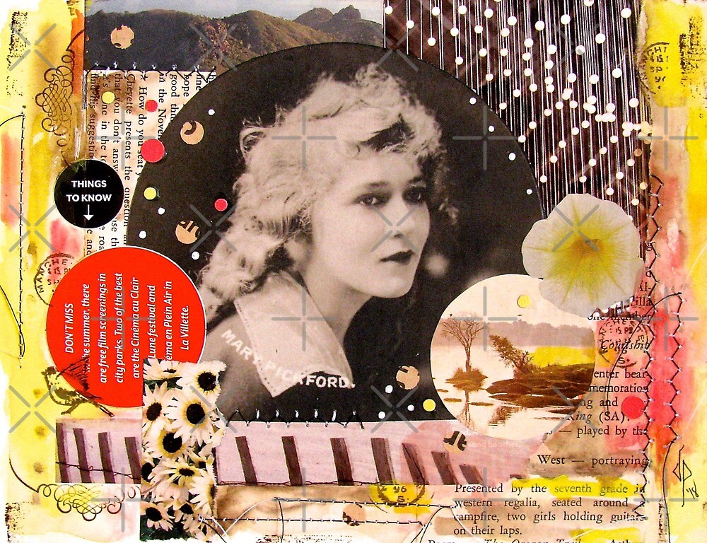 Mary Pickford Collage by collageDP