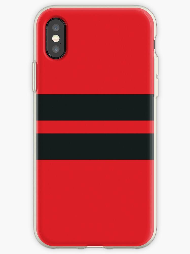 Red/Black Stripes by sidebar