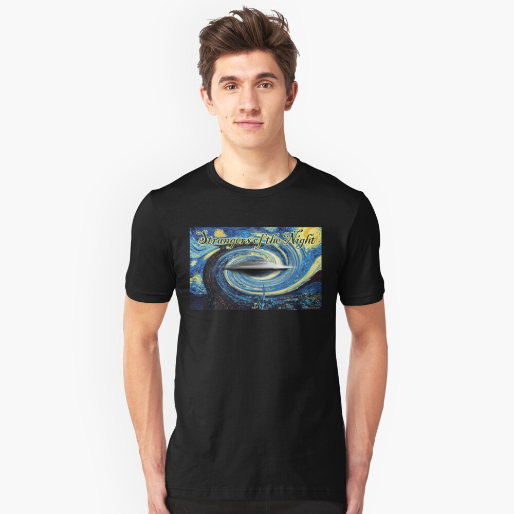 Strangers of the Night Unisex T-Shirt Front