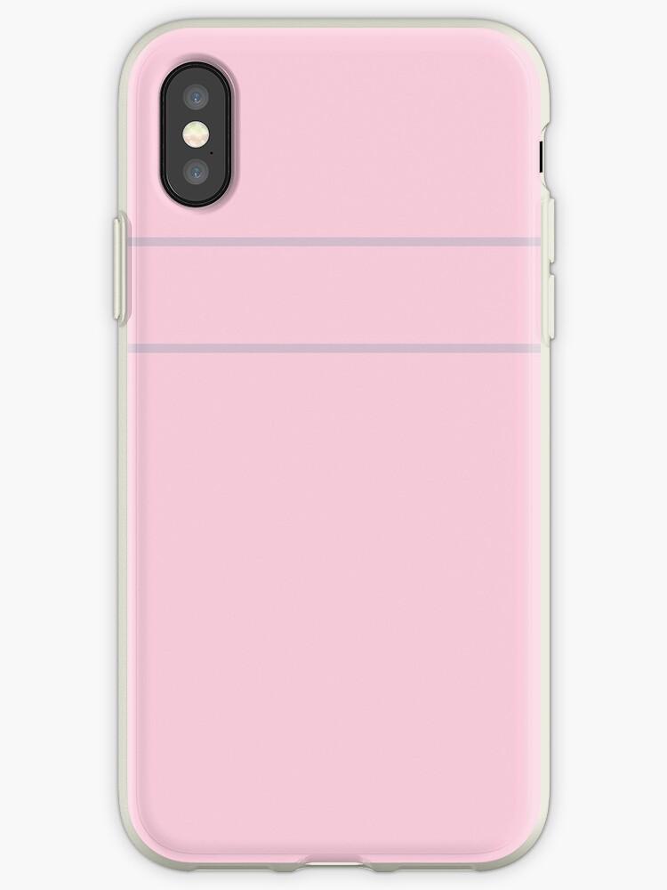 Pink/Gray Minimalist Stripes by sidebar