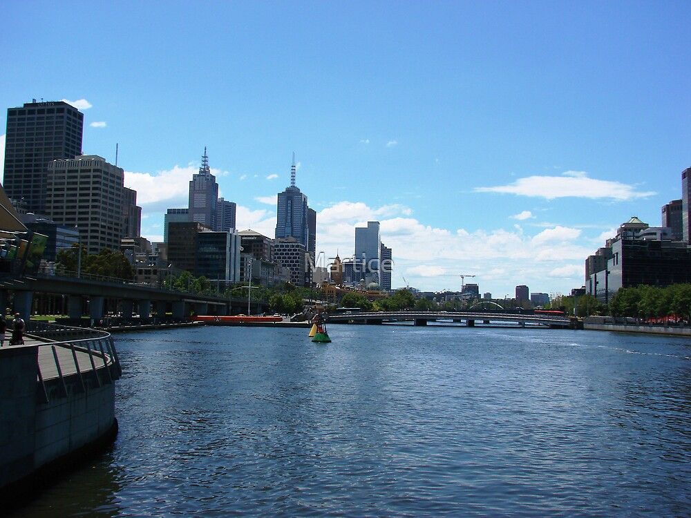 Melbourne City Landscape by Martice