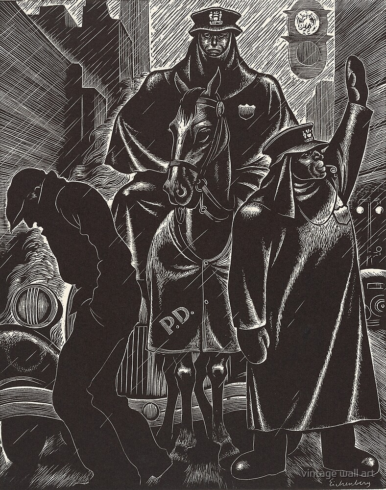 April by Fritz Eichenberg by fineearth