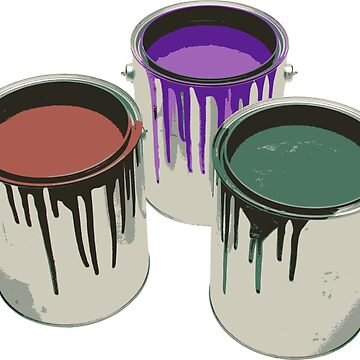 Gallons of paint by SamuelMolina