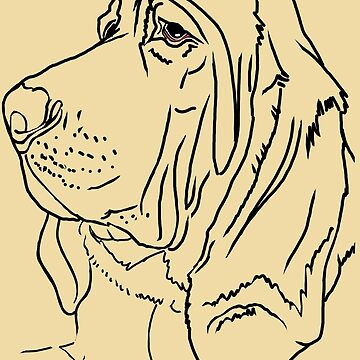Bloodhound Love by thecustombrush
