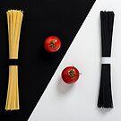 Ying Yang Spaghetti by Tracy Riddell