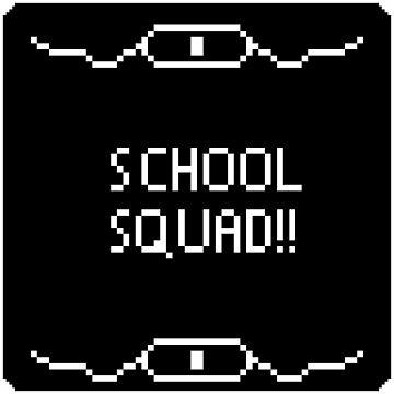 School Squad Design (Regular Edition) by silverhand983