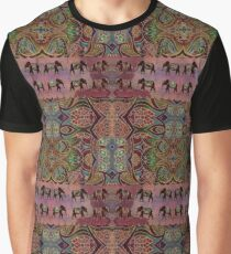 Floral elephants Graphic T-Shirt