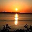 Sunrise over Mill Bay BC by AnnDixon