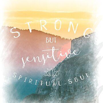 Spiritual Soul - Spiritual T-Shirt by SarahHellyer