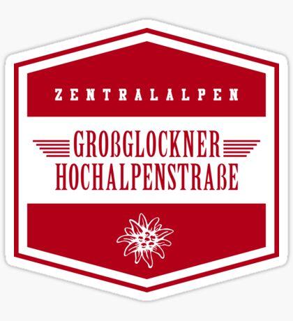Grossglockner Hochalpenstraße - Edelweiss T-Shirt Sticker Design Sticker