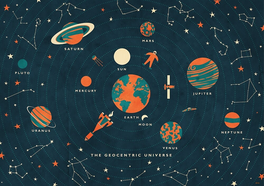 The Geocentric Universe by daviz