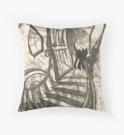 The Attic Throw Pillow