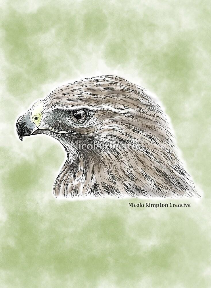 Majestic Hawk by NicolaKimpton