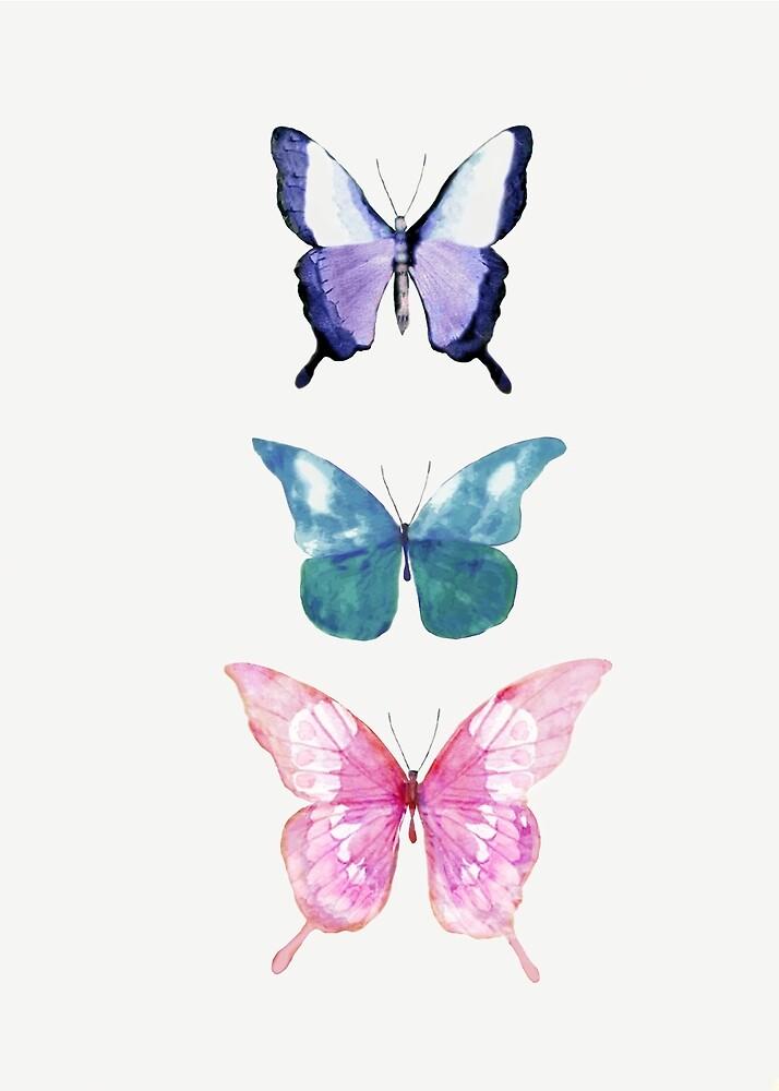 Butterflies  by Nadjaa