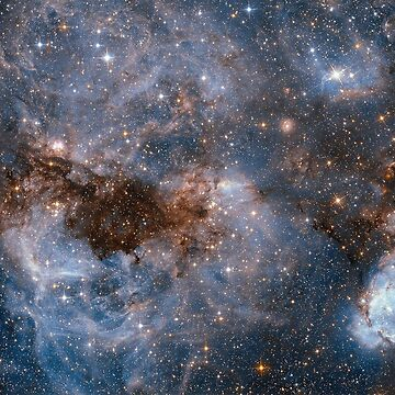Hubble Peers into the Storm, the Large Magellanic Cloud (LMC).  by TOMSREDBUBBLE