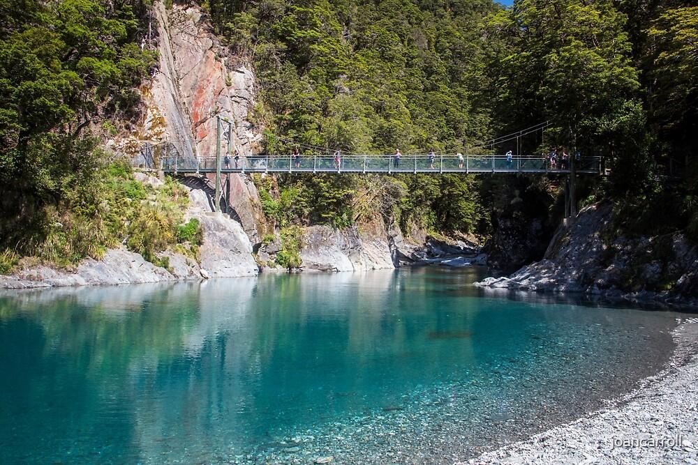Blue Pools New Zealand by joancarroll