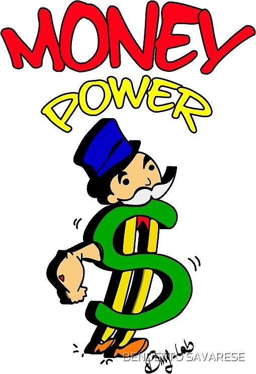 MONEY POWER by BENDETTO SAVARESE