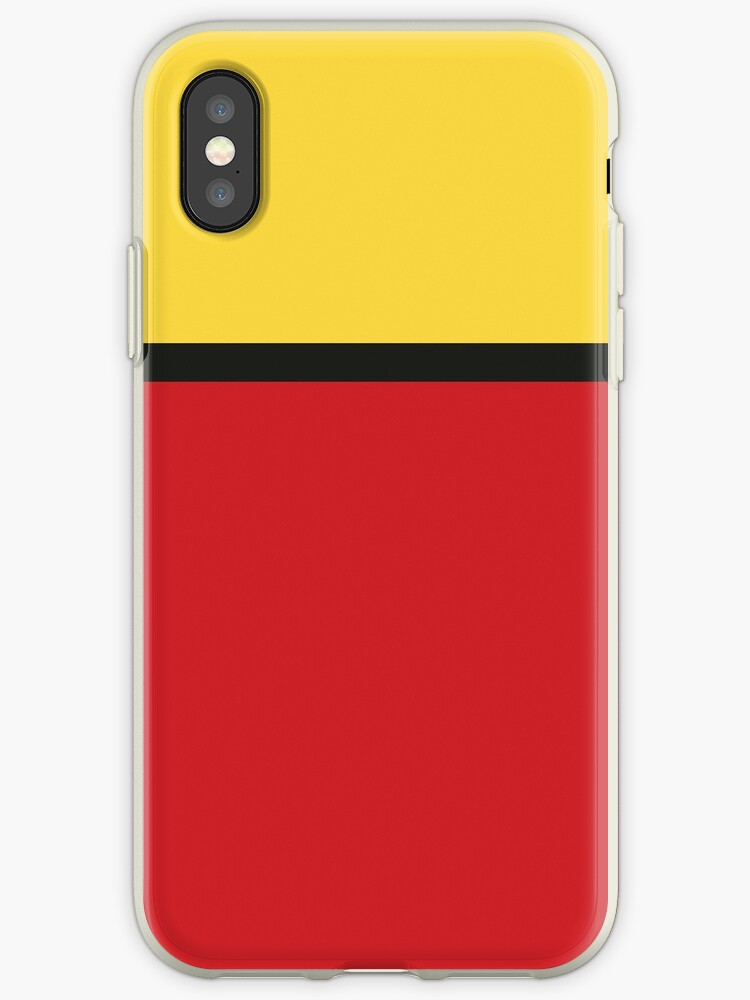 Yellow/Black/Red Colorblock by sidebar